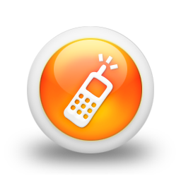 105387-3d-glossy-orange-orb-icon-business-phone-cell